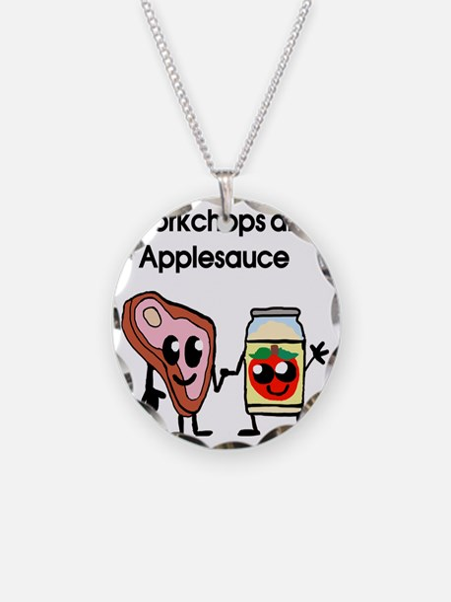 porkchop and applesauce Necklace