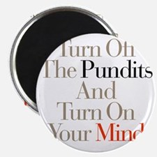 Turn_Off_Pundits Magnet