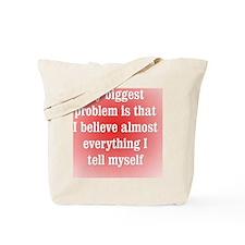 believeeverything_rnd1 Tote Bag