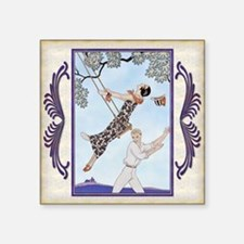 """Pillow-3 March Barbier - Lo Square Sticker 3"""" x 3"""""""