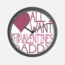 PINK DADDY Wall Clock