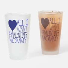 BLUE MOMMY Drinking Glass