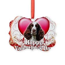 Happy Valentines Day Springer Spa Ornament