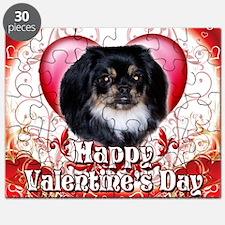 Happy Valentines Day Pekingnese Puzzle
