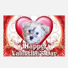 Happy Valentines Day Schn Postcards (Package of 8)