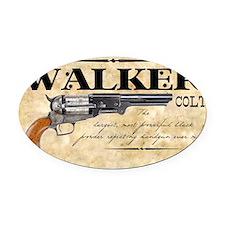 walker_mouse Oval Car Magnet
