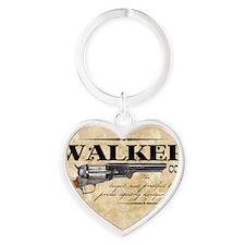 walker_mouse Heart Keychain