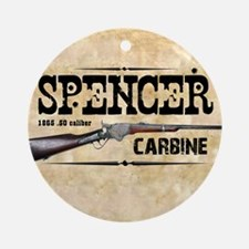 spencer_mouse Round Ornament