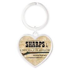 sharps_mouse Heart Keychain