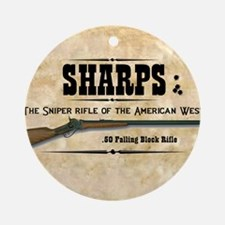 sharps_mouse Round Ornament