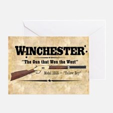 winchester_mouse Greeting Card