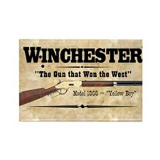winchester_mouse Rectangle Magnet
