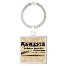 winchester_mouse Square Keychain