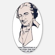 thomas-paine-LTT Sticker (Oval)