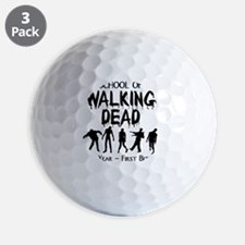 zombiemedschoolfirstyear Golf Ball