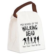 zombiemedschoolfirstyear Canvas Lunch Bag