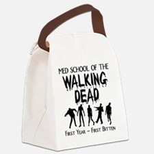 zombiemedschoolfirstyear Canvas Lunch Bag