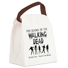 zombiemedschoolsecondyear Canvas Lunch Bag