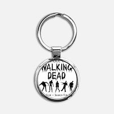 zombiemedschoolsecondyear Round Keychain