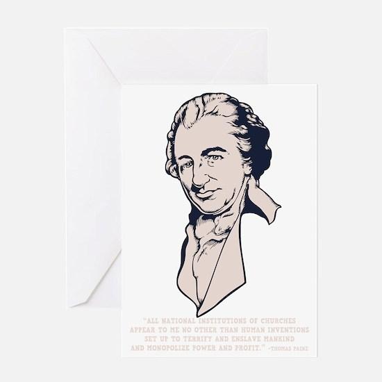 thomas-paine-DKT Greeting Card
