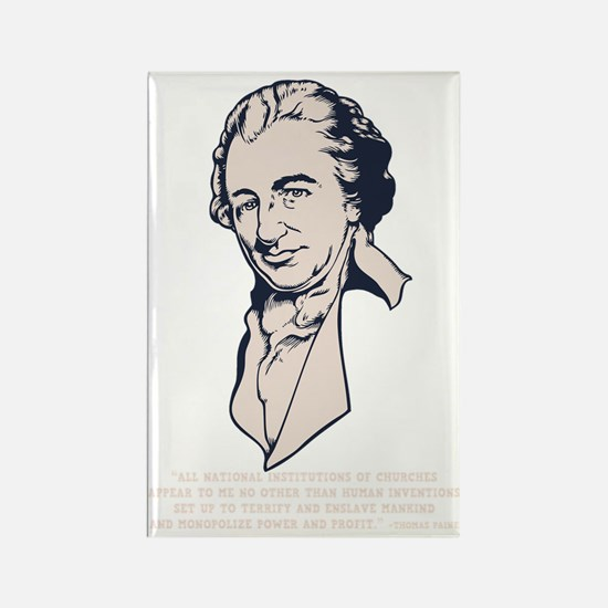 thomas-paine-DKT Rectangle Magnet