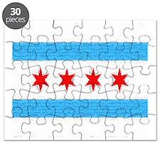 Chicago Flag Puzzle