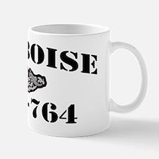 boise black letters Mug