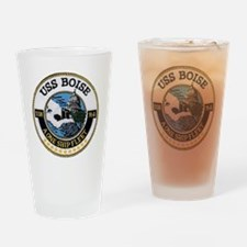 boise patch Drinking Glass