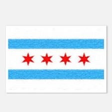 Chicago Flag Postcards (Package of 8)