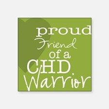 "proud friend copy Square Sticker 3"" x 3"""