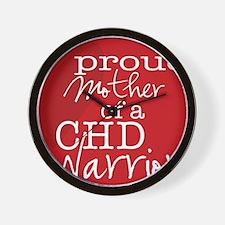 proud mother copy Wall Clock