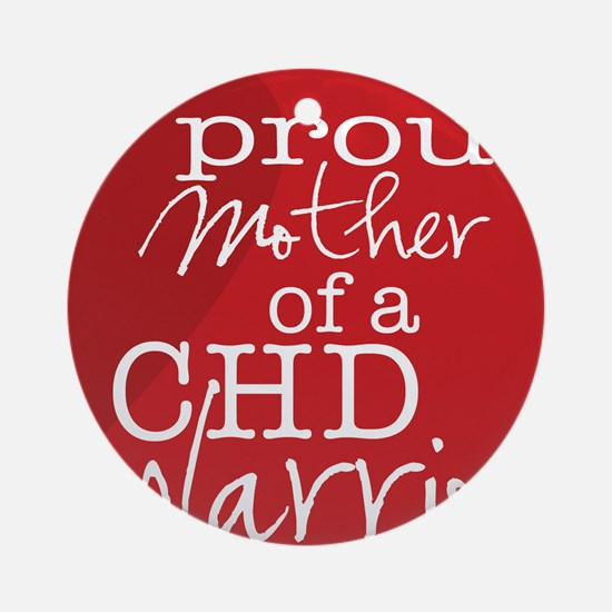 proud mother copy Round Ornament