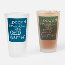 proud grandma copy Drinking Glass