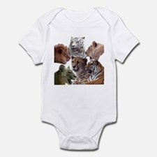 big cats Infant Bodysuit