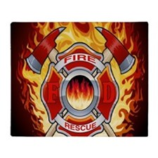FIRERESCUE Throw Blanket