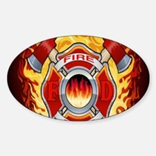 FIRERESCUE Sticker (Oval)