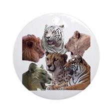 big cats Ornament (Round)