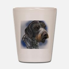 german_wirehaired_pointer1 Shot Glass
