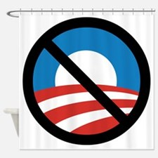 Obama Logo Crossed 5000px 0f Shower Curtain