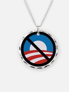 Obama Logo Crossed 5000px 0f Necklace