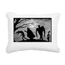 monster_mashup_whiteshir Rectangular Canvas Pillow
