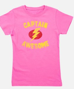 Captain Awesome Girl's Tee