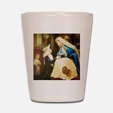 Saint Chaterine Laboure  LorAnge Art CP Shot Glass