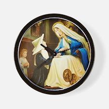 Saint Chaterine Laboure  LorAnge Art CP Wall Clock