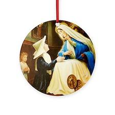 Saint Chaterine Laboure  LorAnge Ar Round Ornament