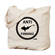 Shark Art (Tighter logo) - Anti-Shark Fin Tote Bag