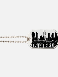 Los Angeles Skyline Dog Tags