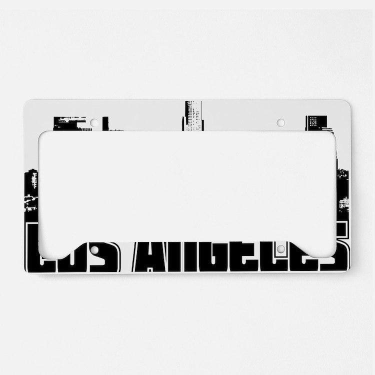 Los Angeles Skyline License Plate Holder