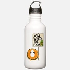 willwheekforfood Water Bottle