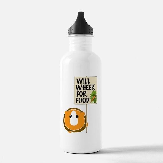 willwheekforfood Water Bottle